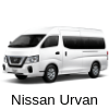 car rental nissan urvan