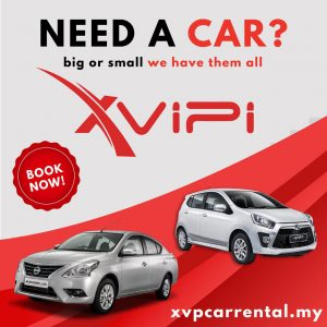 Xvipi Car Rental: Rate Kereta Sewa (2019)-Rent Now!